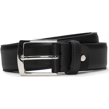 Accesorios textil Hombre Cinturones Nae Vegan Shoes BeltBegur Negro