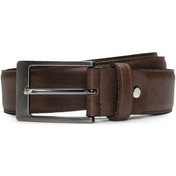 Accesorios textil Hombre Cinturones Nae Vegan Shoes BeltCalaf Marrón