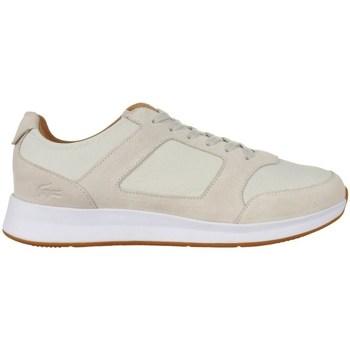 Zapatos Hombre Zapatillas bajas Lacoste Joggeur Beige