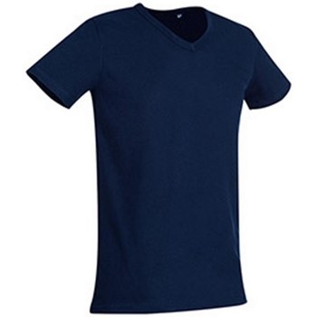 textil Hombre Camisetas manga corta Stedman Stars  Azul Marina