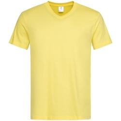 textil Hombre Camisetas manga corta Stedman  Amarillo