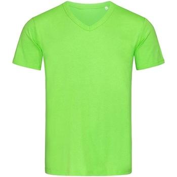 textil Hombre Camisetas manga corta Stedman Stars  Verde Flash