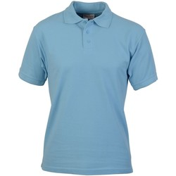 textil Hombre Polos manga corta Absolute Apparel  Azul claro