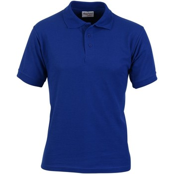 textil Hombre Polos manga corta Absolute Apparel  Azul