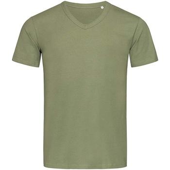 textil Hombre Camisetas manga corta Stedman Stars  Verde Militar
