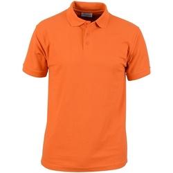 textil Hombre Polos manga corta Absolute Apparel  Naranja