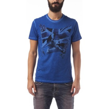 textil Hombre camisetas manga corta Gas Camiseta Scuba/s Bass Azul
