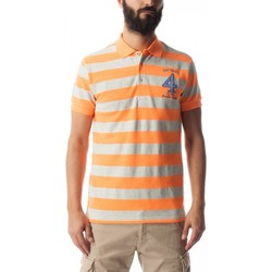 textil Hombre polos manga corta Gas Polo Ralph Stripe Multicolor