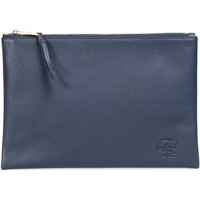 Bolsos Bolso Herschel Network Large Leather Navy Pebbled Leather