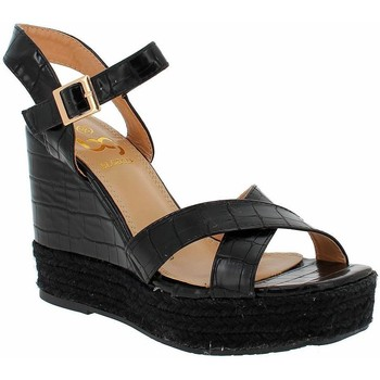 Zapatos Mujer Alpargatas Blogger HI-KD-127 Black