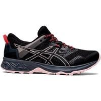 Zapatos Mujer Fitness / Training Asics Gelsonoma 5 Negros, Rosa