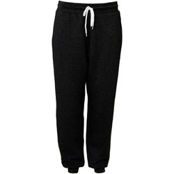 textil Pantalones de chándal Bella + Canvas CA3727 Negro