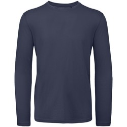 textil Hombre Camisetas manga larga B And C TM070 Marino