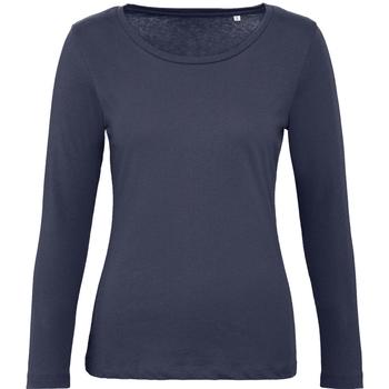 textil Mujer Camisetas manga larga B And C TW071 Marino Urban