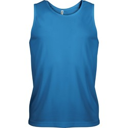 textil Hombre Camisetas sin mangas Proact Débardeur  Sport bleu eau