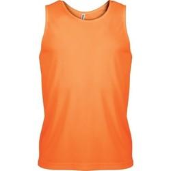 textil Hombre Camisetas sin mangas Proact Débardeur  Sport orange