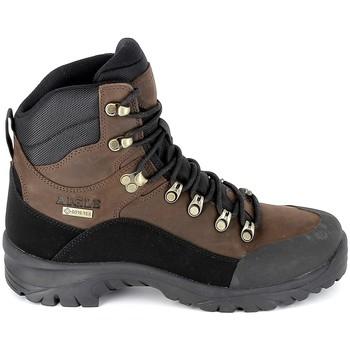 Zapatos Senderismo Aigle Sarenne Mid GTX Marron Marrón