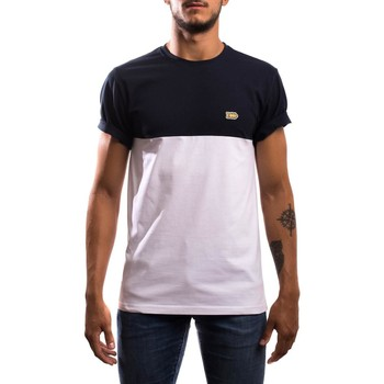 textil Hombre Camisetas manga corta Klout CAMISETA BLOCK Azul