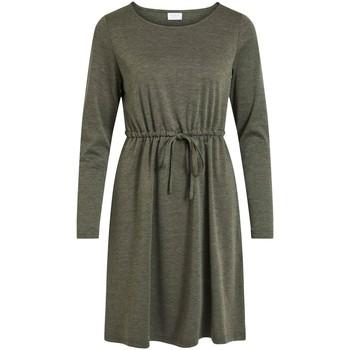textil Mujer Vestidos cortos Vila VIJUNER L/S DRESS Verde