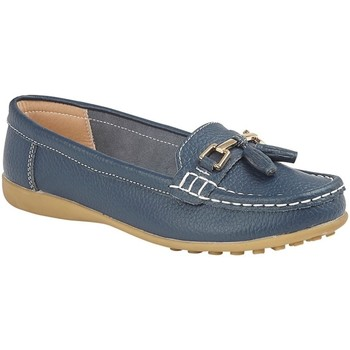 Zapatos Mujer Mocasín Boulevard  Marino