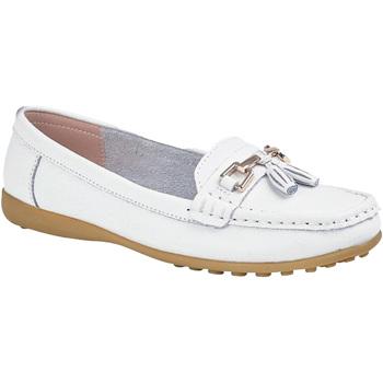 Zapatos Mujer Mocasín Boulevard  Blanco