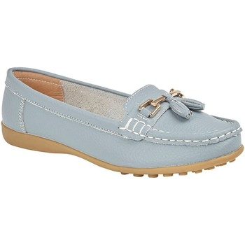 Zapatos Mujer Mocasín Boulevard  Azul Baby