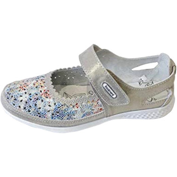 Zapatos Mujer Bailarinas-manoletinas Boulevard  Gris/Flores