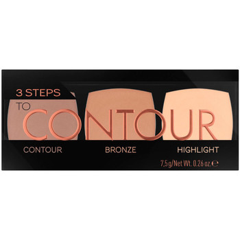 Belleza Mujer Antiarrugas & correctores Catrice 3 Steps To Contour Palette 010-allrounder 7,5 Gr 7,5 g
