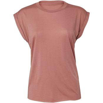 textil Mujer Camisetas sin mangas Bella + Canvas BE8804 Malva
