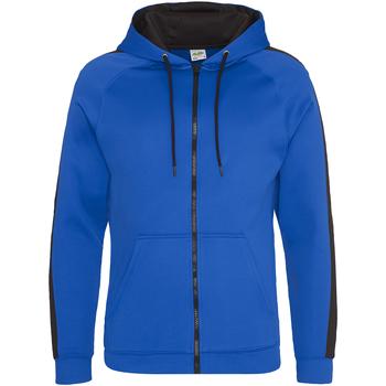 textil Hombre Sudaderas Awdis JH066 Azul Royal/Negro
