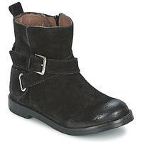 Zapatos Niña Botas de caña baja Aster NINON Negro