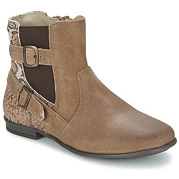 Zapatos Niña Botas de caña baja Aster DESIA Topotea / Estampado