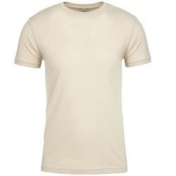 textil Camisetas manga corta Next Level NX3600 Crema