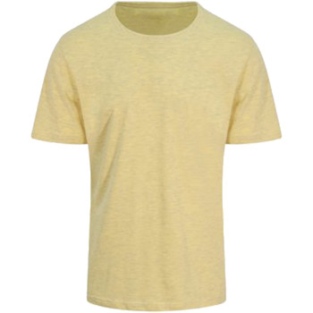 textil Hombre Camisetas manga corta Awdis JT032 Amarillo surf
