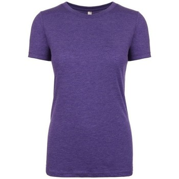 textil Mujer Camisetas manga corta Next Level NX6710 Morado