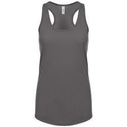 textil Mujer Camisetas sin mangas Next Level NX1533 Gris Oscuro