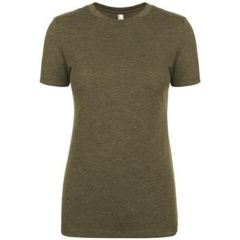 textil Mujer Camisetas manga corta Next Level NX6710 Verde militar