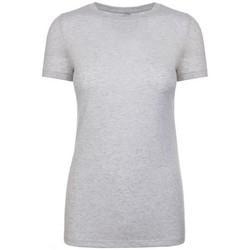 textil Mujer Camisetas manga corta Next Level NX6710 Blanco moteado
