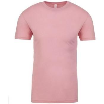 textil Camisetas manga corta Next Level NX3600 Rosa claro