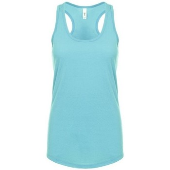 textil Mujer Camisetas sin mangas Next Level NX1533 Azul Tahiti