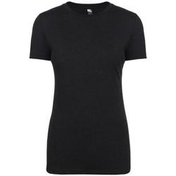 textil Mujer Camisetas manga corta Next Level NX6710 Negro vintage