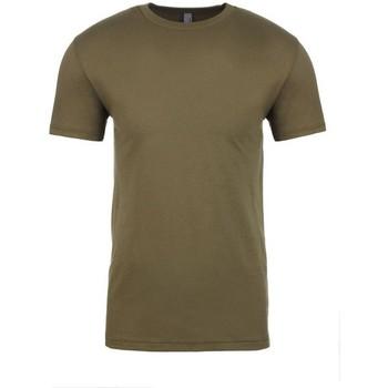 textil Camisetas manga corta Next Level NX3600 Verde militar