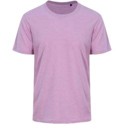 textil Hombre Camisetas manga corta Awdis JT032 Morado surf