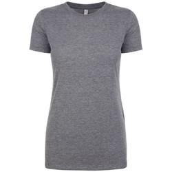 textil Mujer Camisetas manga corta Next Level NX6710 Gris moteado