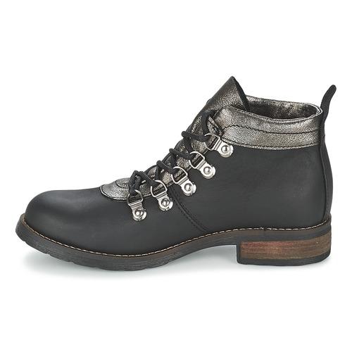 Casual Baja Mizatte Mujer Botas Negro Attitude De Zapatos Caña m8ON0vnw