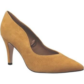 Zapatos Mujer Zapatos de tacón Caprice 9-22412-25 terciopelo amarillo