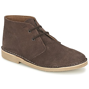 Zapatos Hombre Botas de caña baja Casual Attitude IXIFU Marrón