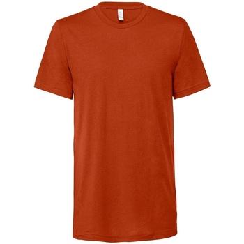 textil Camisetas manga corta Bella + Canvas CV3413 Naranja