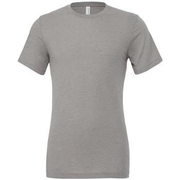 textil Camisetas manga corta Bella + Canvas CV3413 Gris