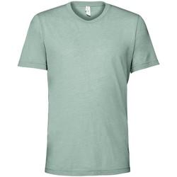 textil Camisetas manga corta Bella + Canvas CV3413 Azul